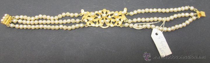 Joyeria: pulsera perlas fallera,fallas - Foto 2 - 47763007