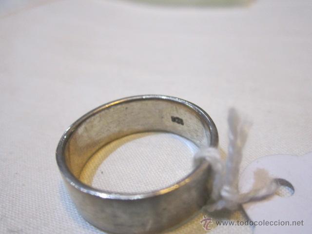 Joyeria: Anillo de plata con salamandra. 19.5 mm. diámetro. 5,7g - Foto 3 - 48429808