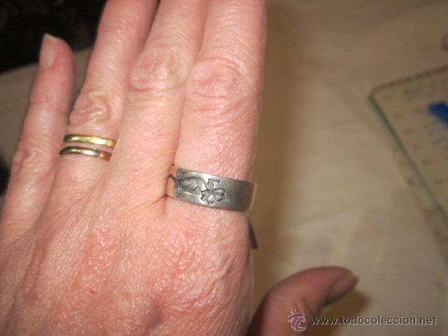 Joyeria: Anillo de plata con salamandra. 19.5 mm. diámetro. 5,7g - Foto 4 - 48429808