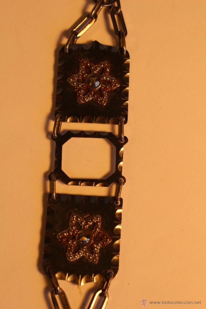 Joyeria: Antiguo colgante metalico para fotografía art deco - Foto 3 - 49436242