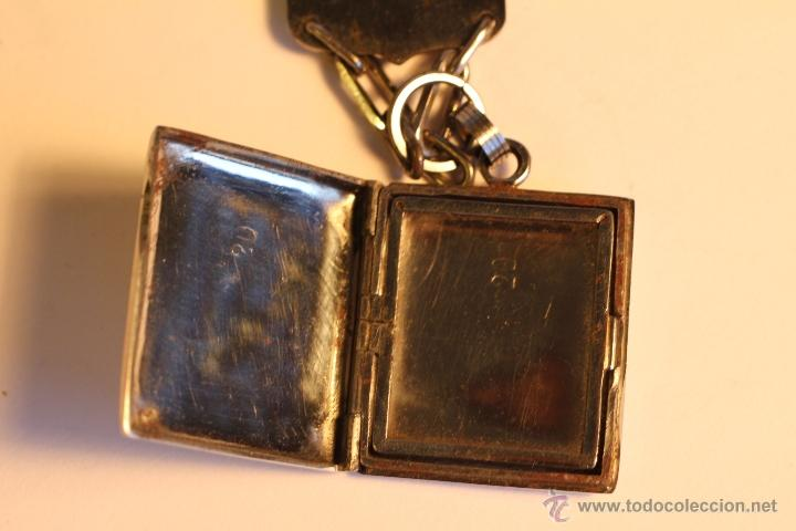 Joyeria: Antiguo colgante metalico para fotografía art deco - Foto 5 - 49436242