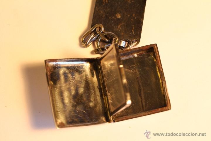Joyeria: Antiguo colgante metalico para fotografía art deco - Foto 6 - 49436242