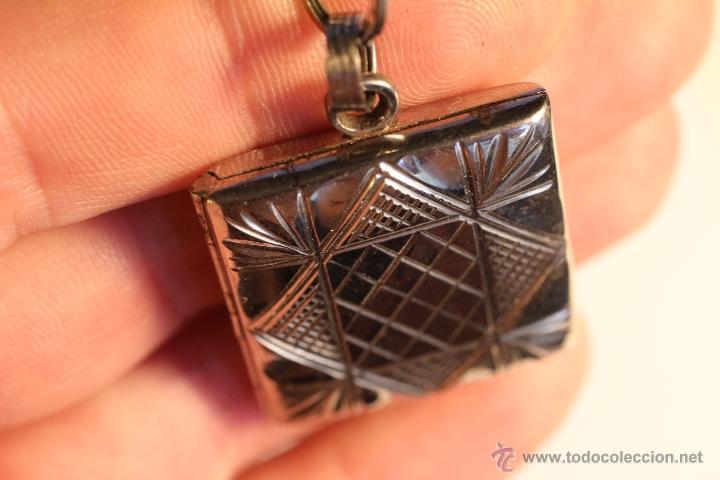 Joyeria: Antiguo colgante metalico para fotografía art deco - Foto 8 - 49436242