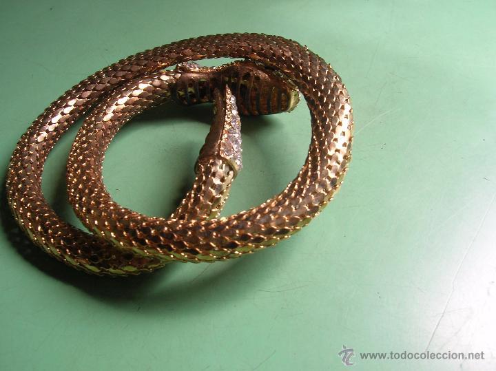 Joyeria: original pulsera en forma de serpiente - Foto 2 - 50354056