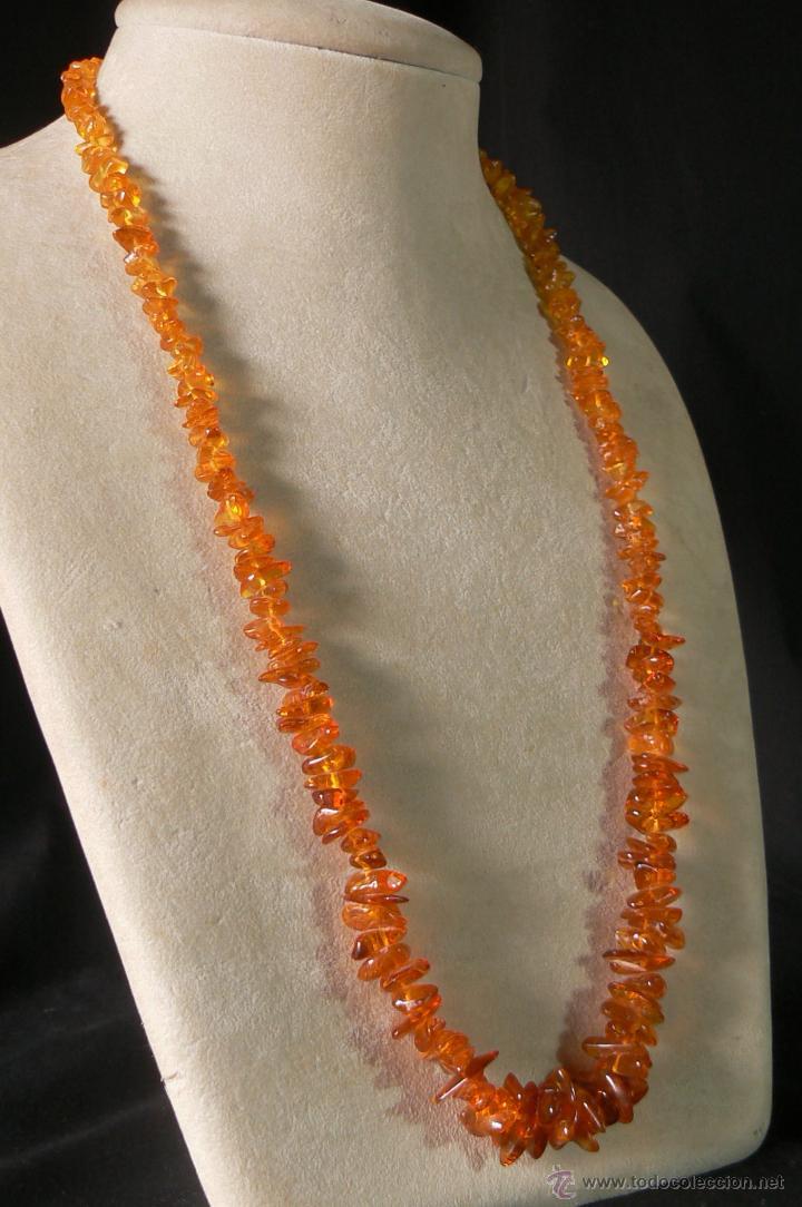 COLLAR DE AMBAR (Joyería - Collares Antiguos)
