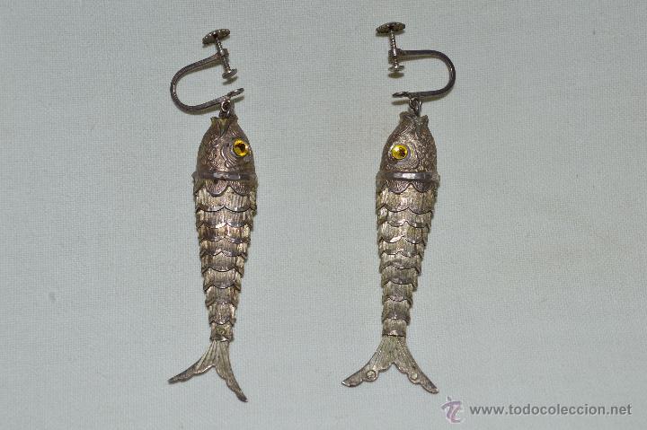 pendientes pez