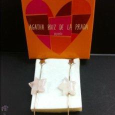 Joyeria: PENDIENTES PLATA AGATHA RUIZ DE LA PRADA. Lote 50921038