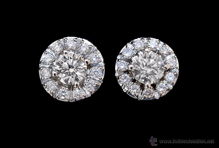 14b9bbba05c Joyeria: LIQUIDACIÓN, pendientes Dormilonas de diamantes 2,48ct VS-G en oro