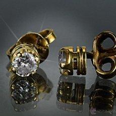 Jewelry - LIQUIDACIÓN, pendientes Dormilonas de diamantes 0,30ct VS-G en oro 18k - 53268218