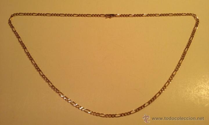 49077f4a974a Cadena de oro de 18k (750mm) nueva tipo cartier - Vendido en Venta ...