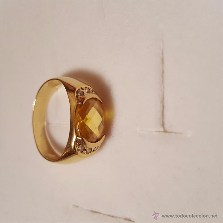 Joyeria: Bonito anillo de oro 18k - Foto 2 - 53891941