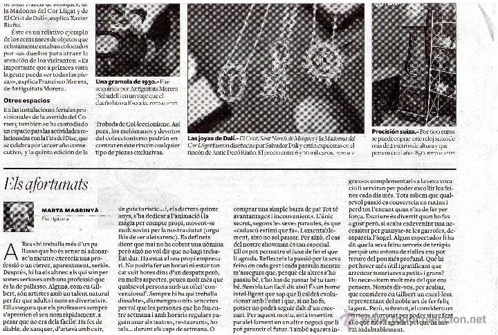 Joyeria: INEDITA COLECCION DE DOS DALI, ORO Y PLATA, CRISTO CORONA ESPINAS, MADONNA PORT LLIGAT - Foto 17 - 53564216