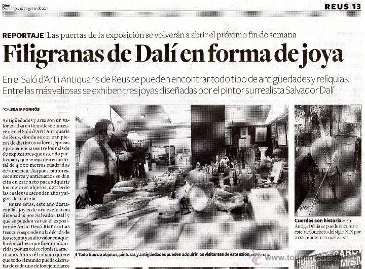 Joyeria: INEDITA COLECCION DE DOS DALI, ORO Y PLATA, CRISTO CORONA ESPINAS, MADONNA PORT LLIGAT - Foto 18 - 53564216