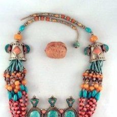 Joyeria - collar étnico tradicional tibetano - 54389503