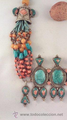 Joyeria: collar étnico tradicional tibetano - Foto 2 - 54389503