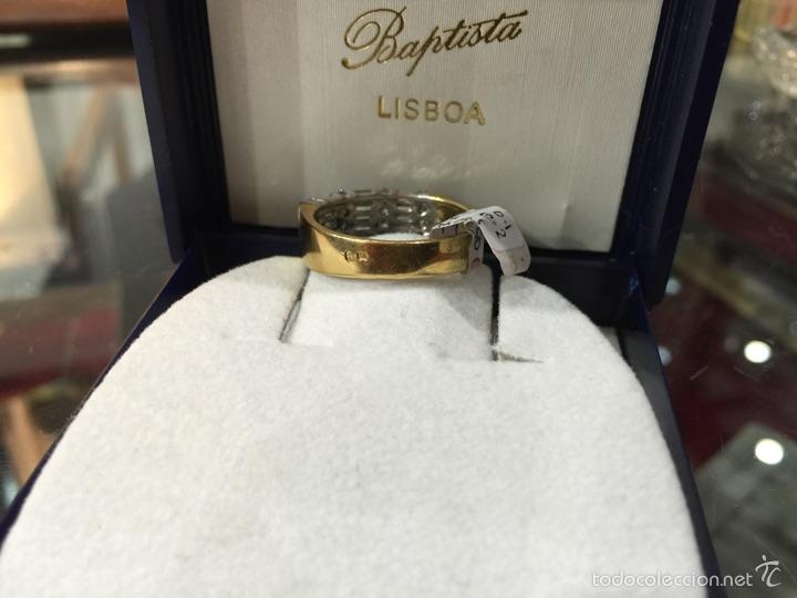 Joyeria: Excepcional Sortija Anillo Oro 18k Diamantes - Foto 4 - 54488662