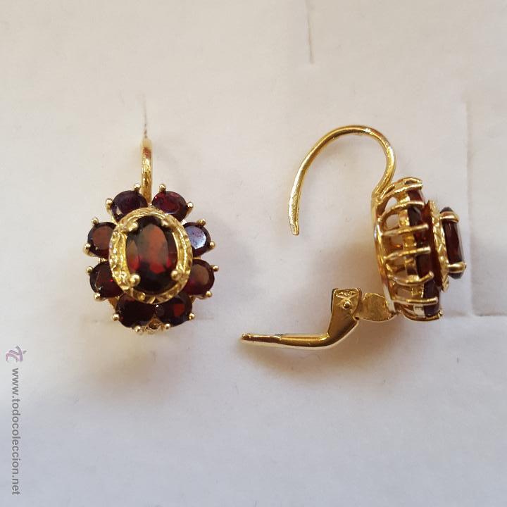 3875fdb11cfc Pendientes oro y granates - Vendido en Venta Directa - 54718757