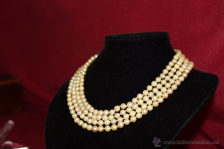 Joyeria: gargantilla en perlas muy antiguo y ORO - Foto 10 - 55080212
