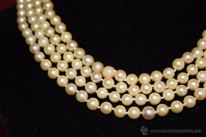 Joyeria: gargantilla en perlas muy antiguo y ORO - Foto 11 - 55080212