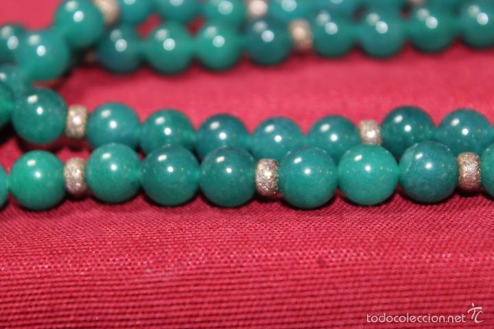 Joyeria: Collar en plata plata 833 MARCADO CON CONTRASTE y jade - Foto 2 - 55120248