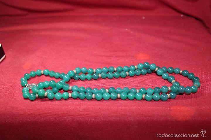 Joyeria: Collar en plata plata 833 MARCADO CON CONTRASTE y jade - Foto 3 - 55120248