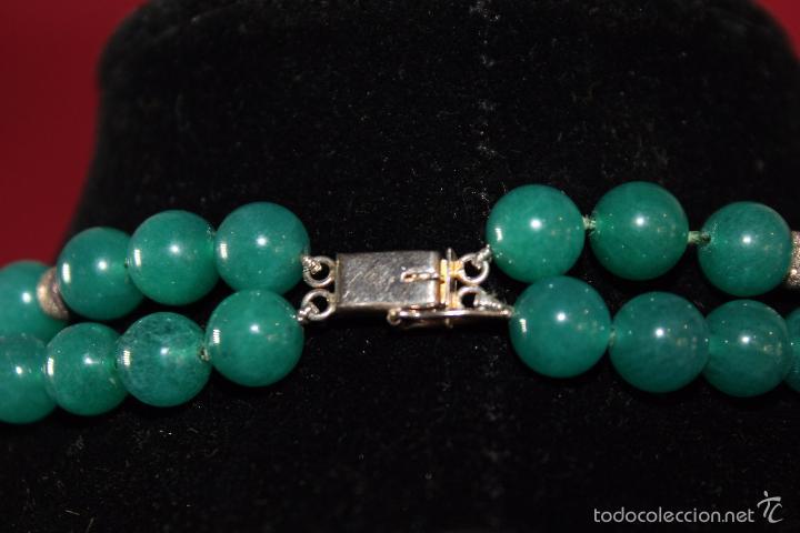Joyeria: Collar en plata plata 833 MARCADO CON CONTRASTE y jade - Foto 5 - 55120248