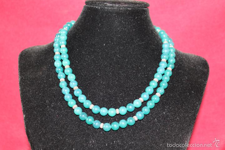 Joyeria: Collar en plata plata 833 MARCADO CON CONTRASTE y jade - Foto 6 - 55120248