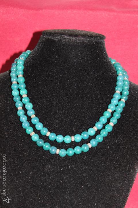 Joyeria: Collar en plata plata 833 MARCADO CON CONTRASTE y jade - Foto 7 - 55120248