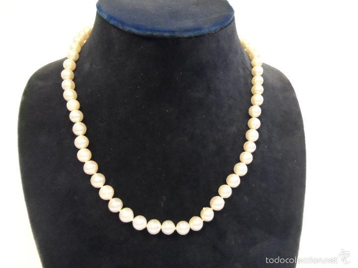 37c623aa1dd0 Collar perlas akoya con cierre oro amarillo
