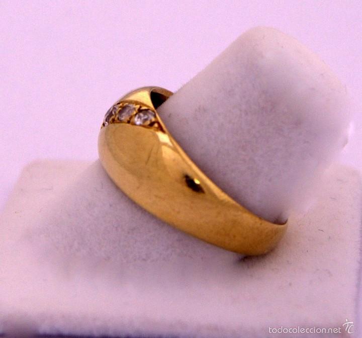 Joyeria: Anillo Bombee Oro 18k Diamantes - Foto 2 - 58327192