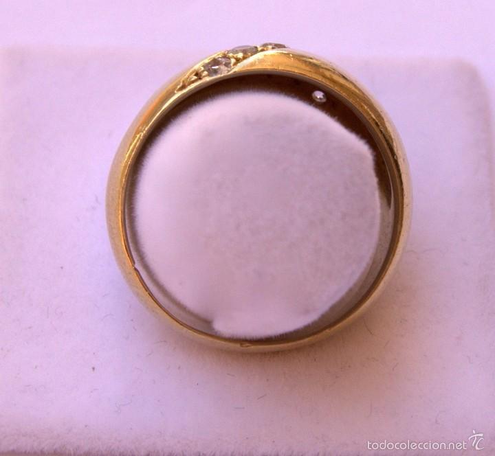 Joyeria: Anillo Bombee Oro 18k Diamantes - Foto 3 - 58327192