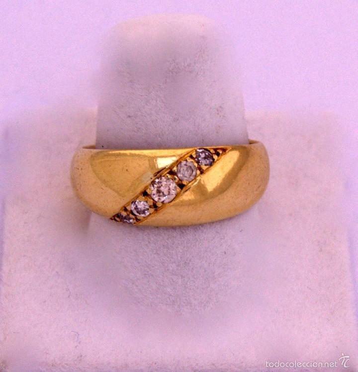 Joyeria: Anillo Bombee Oro 18k Diamantes - Foto 4 - 58327192