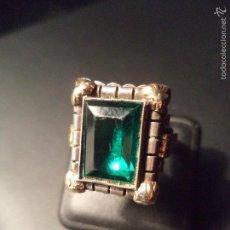 Jewelry - ANILLO ANTIGUO EN PLATA Y LAMINA DE ORO - 58367044