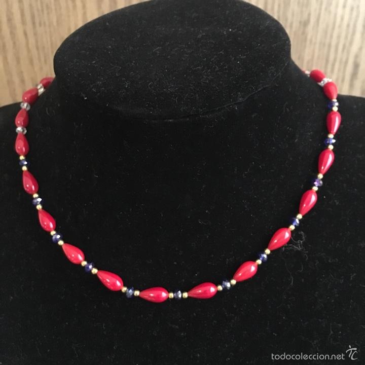 Comprar collar de coral rojo