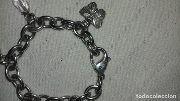 Joyeria: Pulsera Italiana plata y amatistas - Foto 4 - 62779604