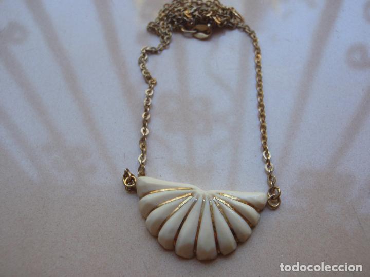 74e2233ed7e7 Antiquisimo collar gargantilla con marfil plata - Vendido en Subasta ...