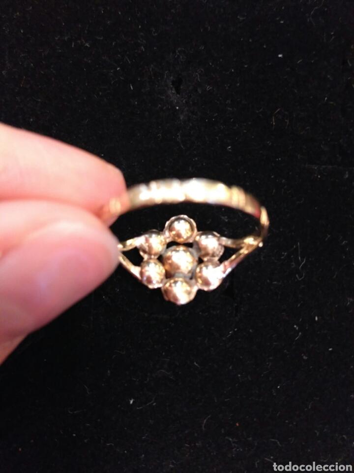 Joyeria: Juego oro 14K y esmeraldas del siglo XIX, anillo, pendientes del siglo XIX - Foto 4 - 64661967