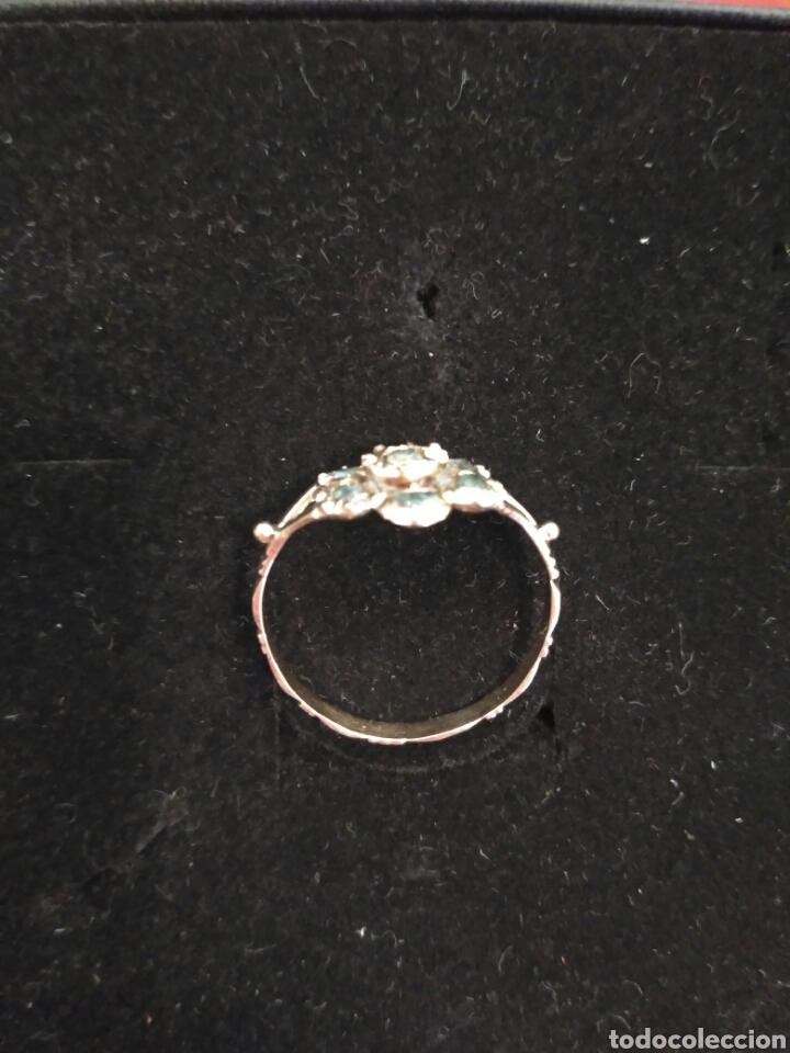 Joyeria: Juego oro 14K y esmeraldas del siglo XIX, anillo, pendientes del siglo XIX - Foto 3 - 64661967