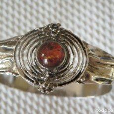 Jewelry - Pulsera de plata maciza con Ambar natural - 64713127