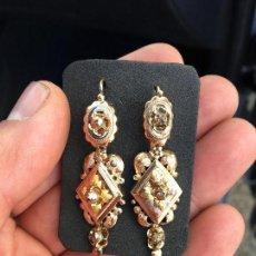 Joyeria - Pendientes alfonsinos 1870 oro 18 K y diamante pequeño - 66006010
