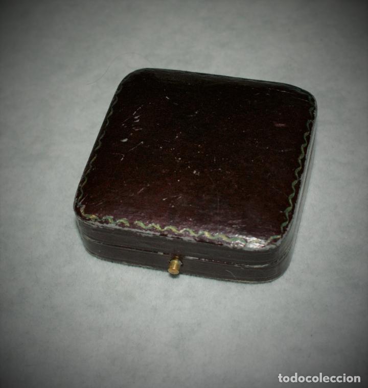 Joyeria: antiguo colgante de oro 18k esmalte - limognes - Foto 5 - 67784197