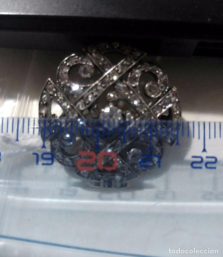 Joyeria: Antiguo broche del siglo XX en oro 18k Platino y diamantes Brooch Diamond Platinum Oro 18k - Foto 3 - 57518887