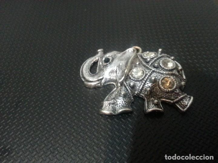 Joyeria: Elefante con piedras - Colgante - Foto 2 - 70391909