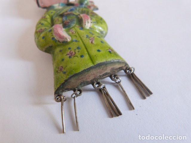 Joyeria: Broche realizado en cuarzo rosa y esmalte - Foto 4 - 71934923