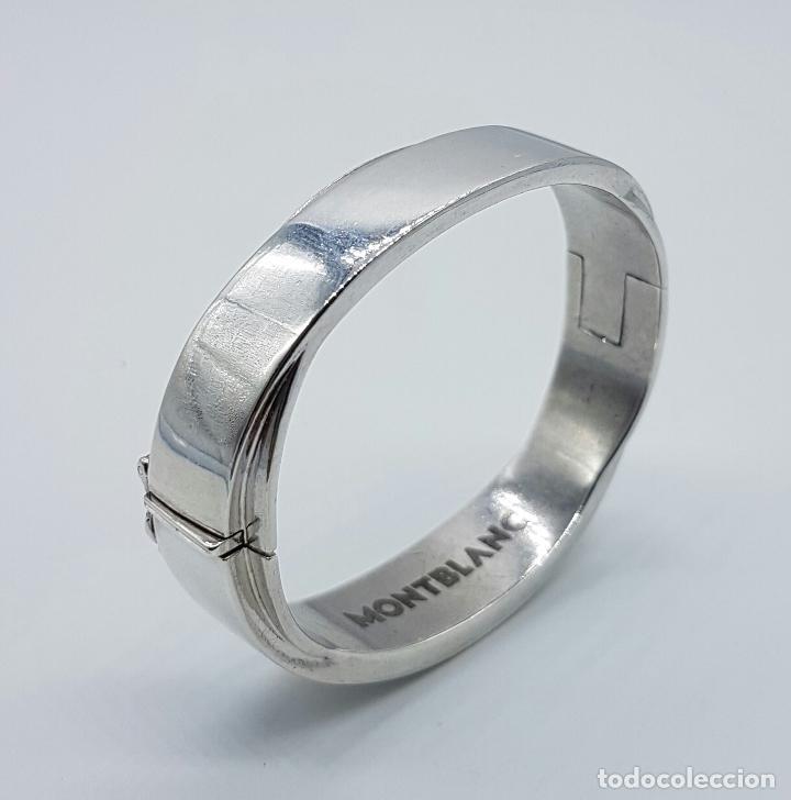 d0b3fdfb2cd5 brazalete de la marca montblanc en plata de ley - Comprar Brazaletes ...