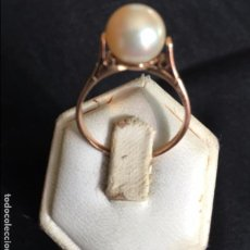 Joyeria: ANILLO,PERLA CULTIVADA Y ORO 18K. RING, CULTIVATED PEARL SET IN 18K GOLD.. Lote 72477531