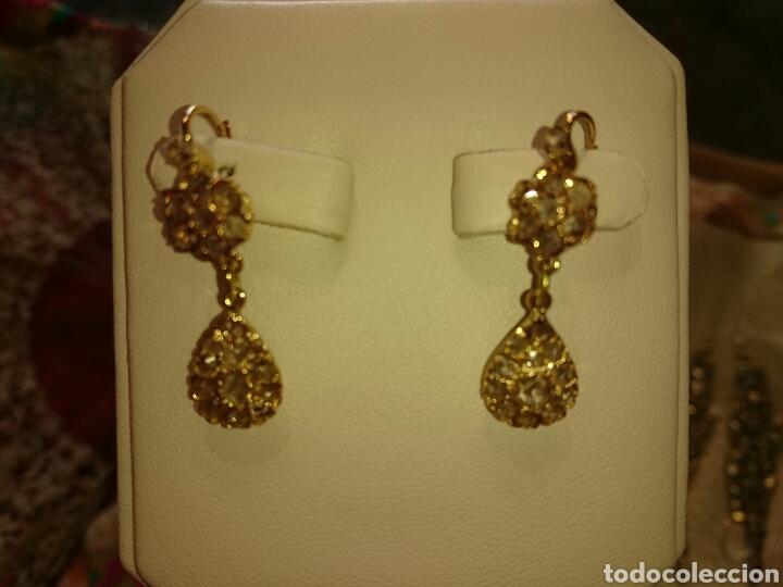 3324090f2047 pendientes siglo xix - Buy Antique Earrings at todocoleccion - 73446742