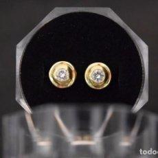 Jewelry - LIQUIDACIÓN, pendientes Dormilonas de diamantes 0,40ct VS-H en oro amarillo 18K - 74749431