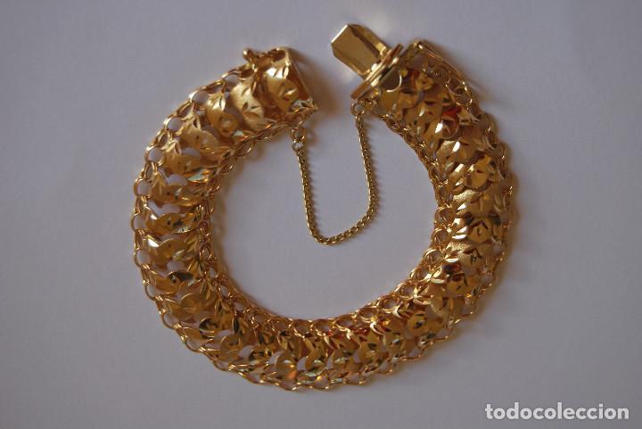 Joyeria: Preciosa Pulsera modelo Princesa de Oro de 18 Kt. - Foto 3 - 171962792