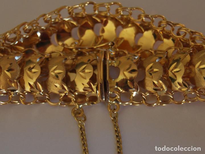 Joyeria: Preciosa Pulsera modelo Princesa de Oro de 18 Kt. - Foto 4 - 171962792
